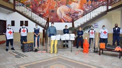 Photo of Entrega Chame Cruz equipo a corporaciones de emergencias