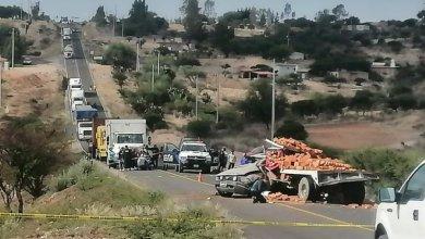 Photo of Cinco fallecidos en choque entre Mustang y camión ladrillero