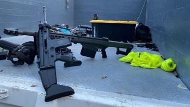 Photo of Fusil Barrett .50: el arma de guerra utilizado en el atentado contra Omar García Harfuch