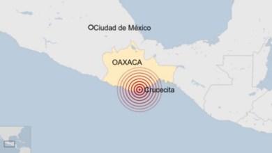 Photo of Un fuerte terremoto con magnitud de 7.5 sacude México