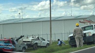 Photo of Trabajador de CFE se vuelca en carretera Silao-Guanajuato