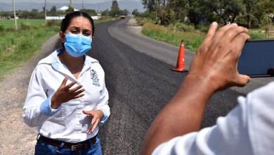 """Photo of """"Trabajamos para todos…"""" Ana Bueno, alcaldesa de Cuerámaro"""
