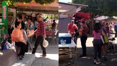 Photo of Exceso de gente sin miedo a enfermarse en el Mercado Barahona de Salamanca