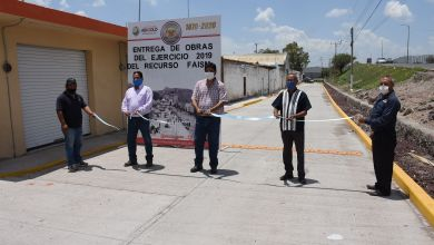 Photo of Entrega oficial de rehabilitación de Calle Mina Norte