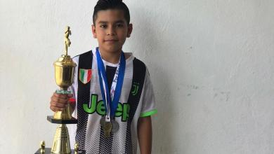 Photo of Cueramarense con 10 años y con un futuro futbolístico impresionante