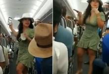 Photo of Pasajera se quita el cubrebocas en el avión… surge #LadyCovid