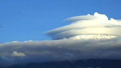 Photo of ¿A qué se deben las extrañas nubes con forma de ovni en el Popocatépetl?