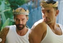 Photo of «Quiero diez hijos más»: Ricky Martin posa junto a su esposo y habla de su plan familiar