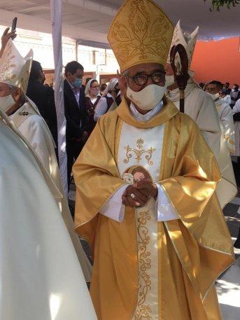nuevo obispo de Querétaro Fidencio Plaza