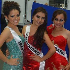 Reinas de ciudades y Karina reina de Huanimaro