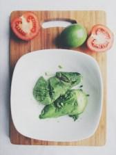 Chunky authentic guacamole