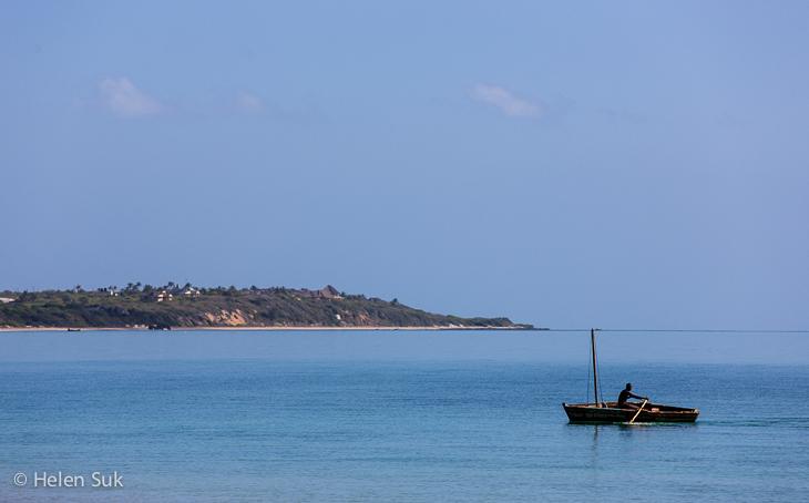 mozambique destinations, vilanculos, boat