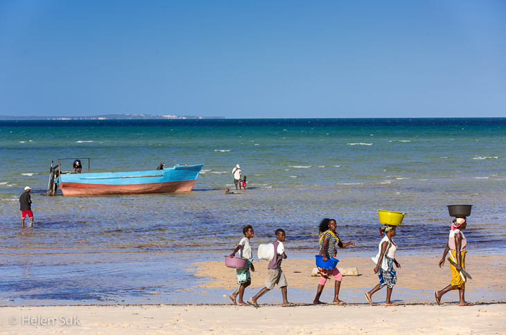 vilankulo, vilanculos beach, mozambique africa