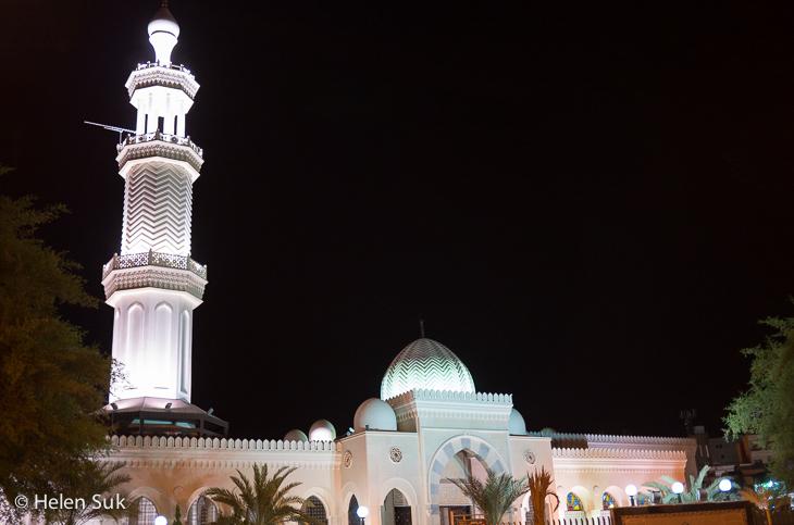 sharif hussein bin ali mosque, aqaba, jordan