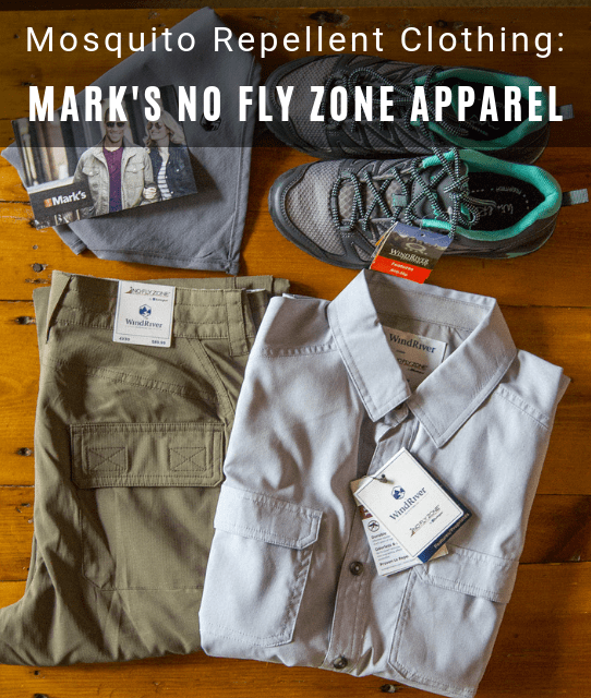 marks no fly zone mosquito repellent clothing