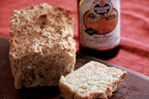 No Knead Beer Bread with Dill