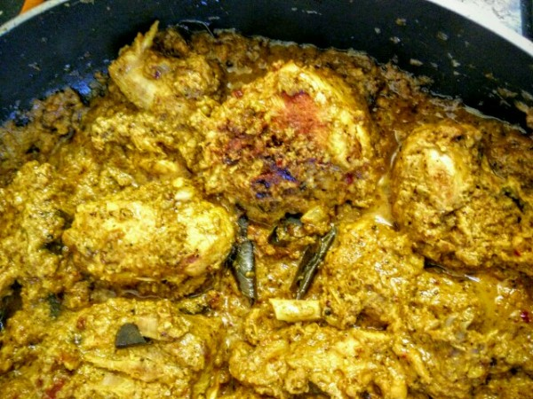 Let the Kerala Black Pepper Chicken simmer for about 20 minutes