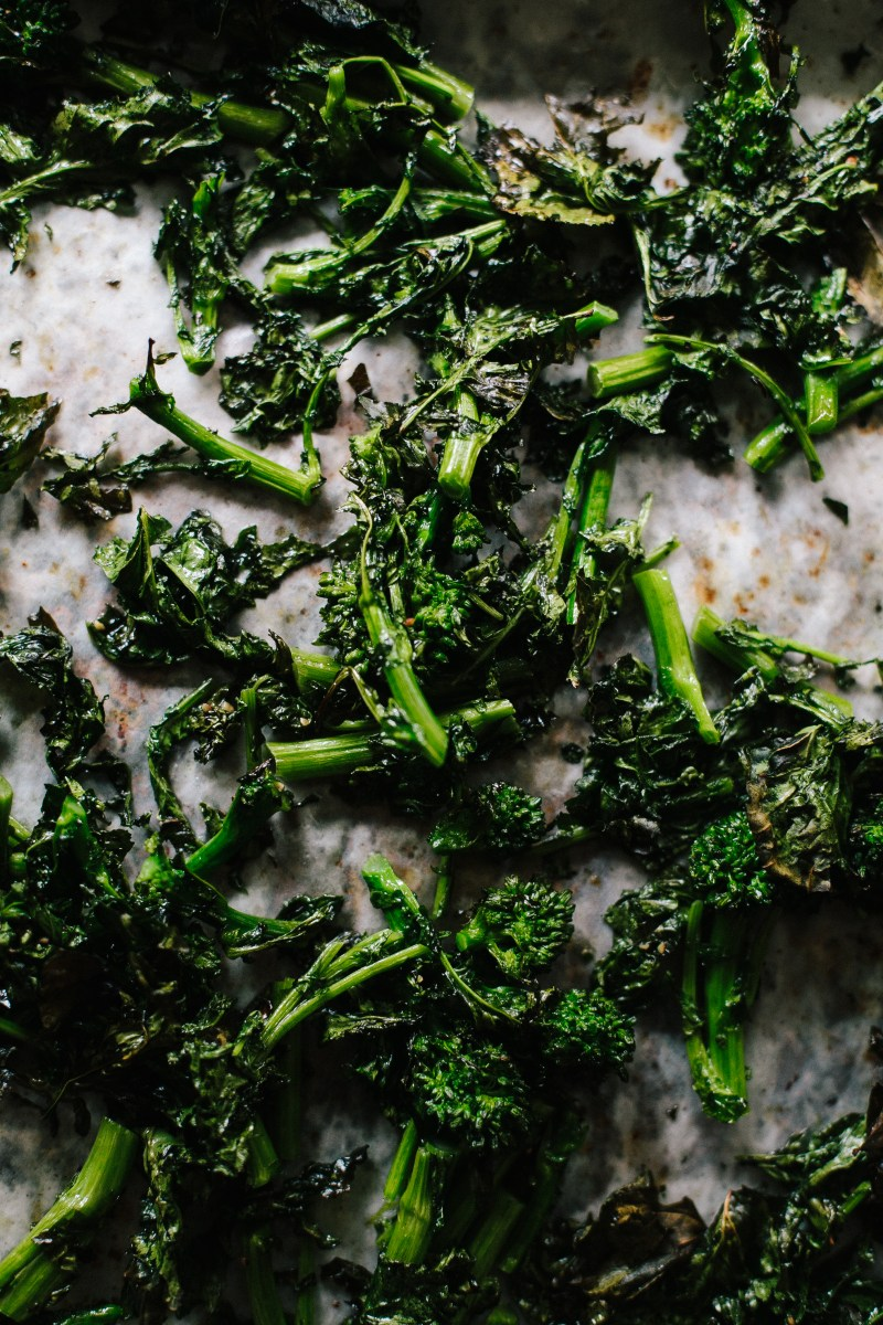 Roasted Broccoli Rabe Bowl // Not Without Salt