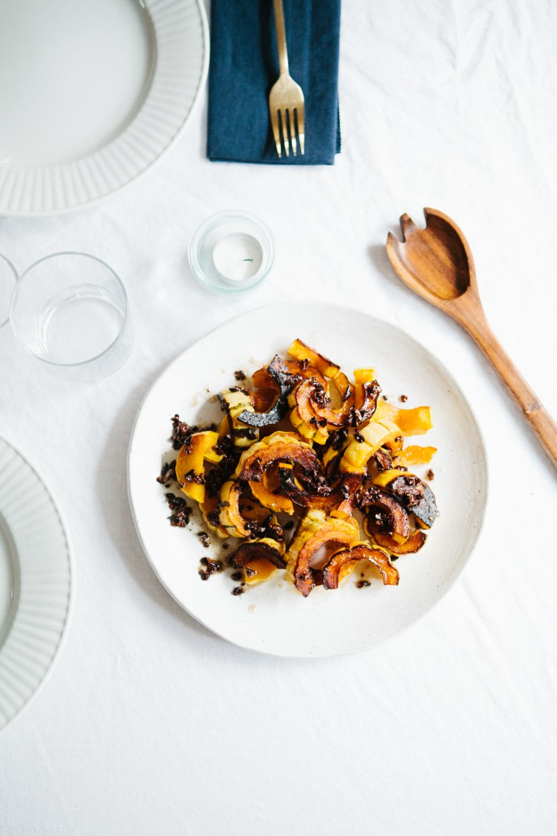 Squash with Brown Butter and Nibs // Notwithoutsalt.com