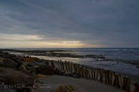 Low tide just before sunset immediately in front of Chirije Lodge.