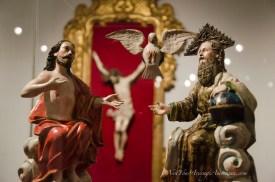 The Casa de la Cultura has an extensive collection of religious art.