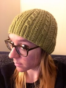 Lutz Jump knit hat - Not Your Average Crochet
