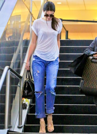 Kendall Jenner back from NYC