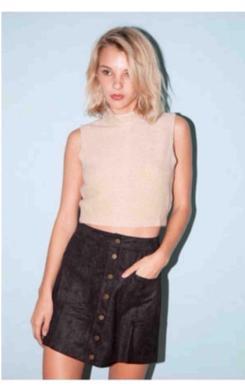ss leathr skirt