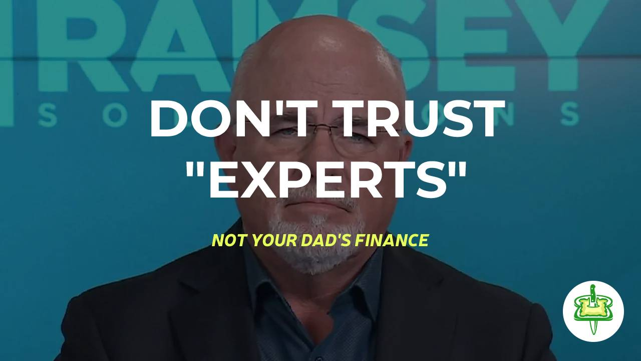 """DON'T TRUST """"EXPERTS"""""""