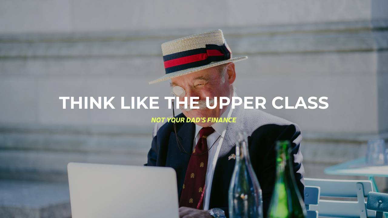 old man, probably upper class