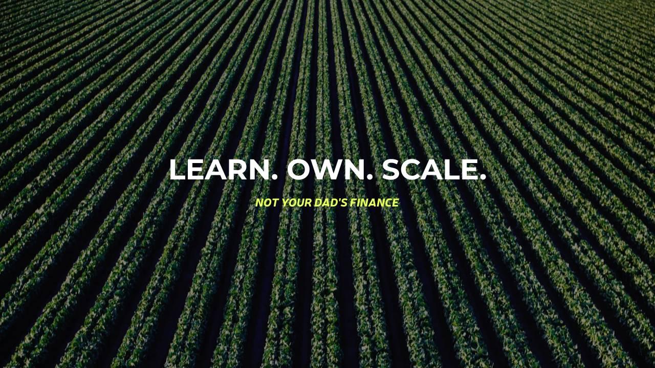 learn own scale, like a farm