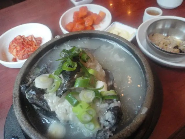 Black Chicken Soup in Seoul