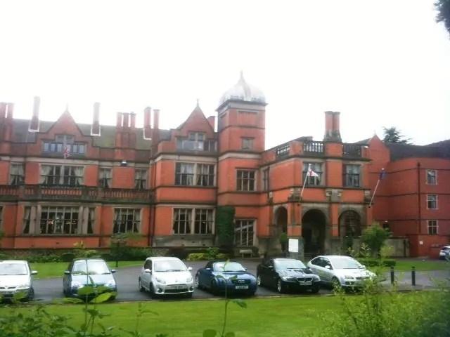 Hoar Cross Hall - front