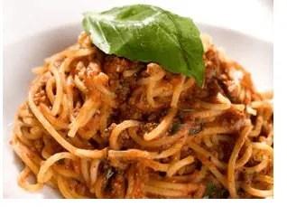 Spaghetti Ragu from Strada