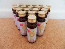 bottles of Pure Gold Collagen lined up for review