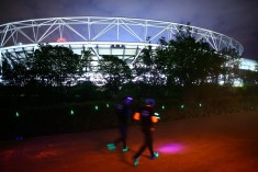 Color Run Night London