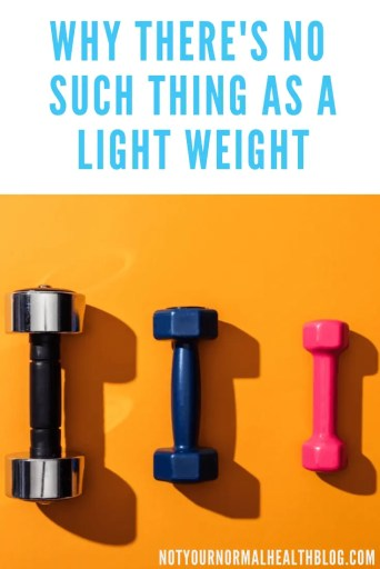 Pin on why there's no such thing as a light weight