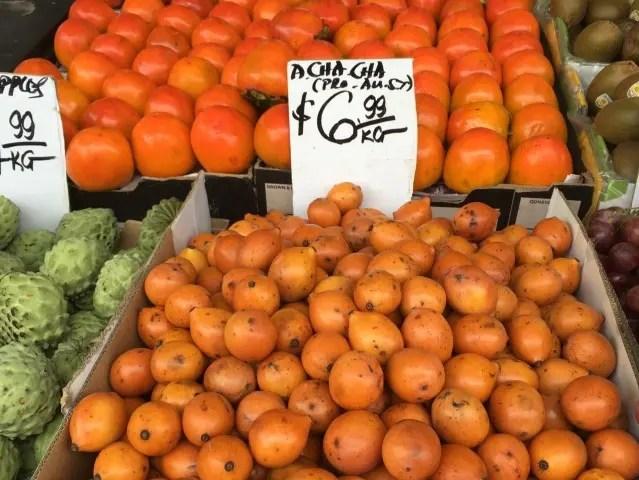 Achacha fruit in Cabramatta Sydney