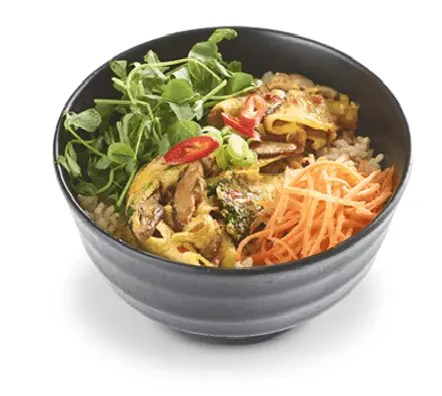 Lowest calorie meals at Wagamama