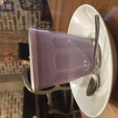 purple sweet potato latte