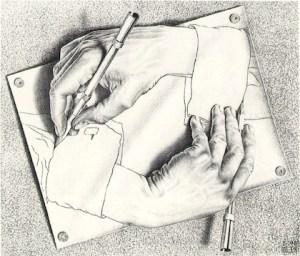 Escher - Hands