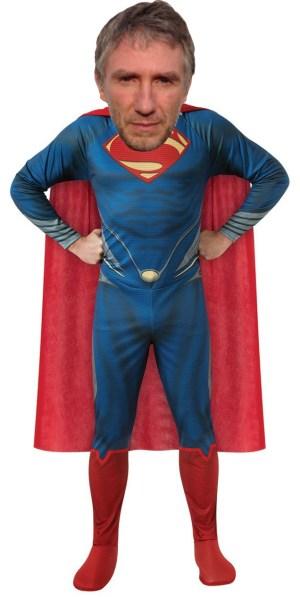 JF superman cloth