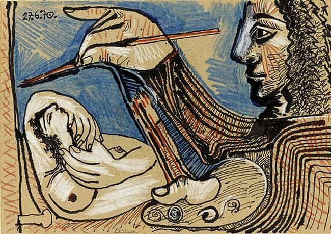 Picasso - L'artiste et son modèle