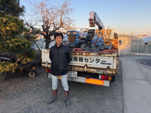 買取事例 イセキトラクターTX2160 浜松市 米山さま