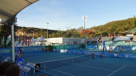 Tennis au Paradis : le Challenger ATP de Nouméa