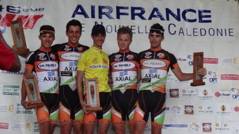 Fondère et son équipe Axial Entreprise Pierre