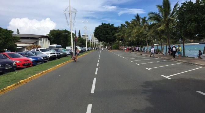 Dimanche en mode doux : circulation et stationnement perturbés sur l'Anse Vata pour «2pelés, un pôndu» !