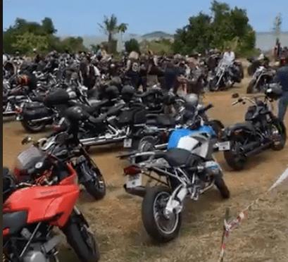LES MOTARDS ONT DU COEUR : 140 MOTOS À TOMO POUR AIDER LES ÉVACUÉS SANITAIRES
