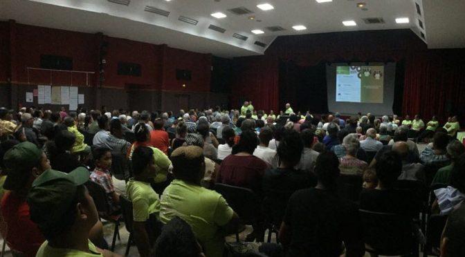 MUNICIPALES À LA FOA : GROSSE ENTRÉE EN CAMPAGNE DE L'AEC