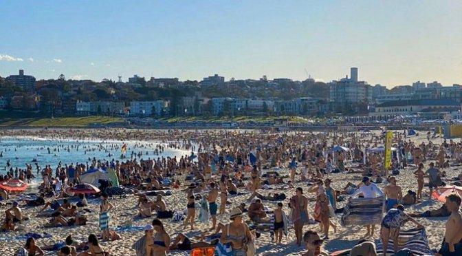 L'AUSTRALIE CHOQUÉE PAR LE LAISSER ALLER À BONDI BEACH LE WEEK END DERNIER